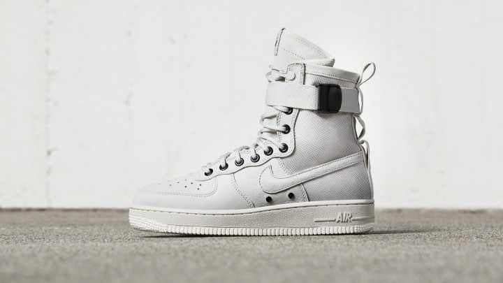 Nike's New SF-AF1 Sneaker Takes Design Cues From Military Boots @NikeSportswear