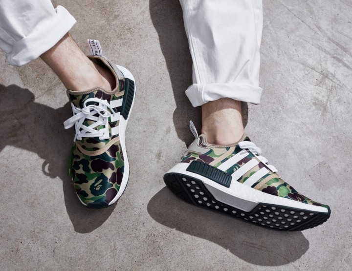 BAPE Applies Their Iconic Camouflage On Adidas Originals NMD