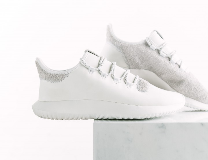 Leather and Suede Grace The Latest adidas Tubular Shadow Sneaker @Footaction #GiftedByFootaction