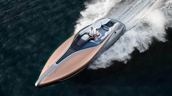 Lexus Builds A Luxurious Sport Yacht Concept @lexuscanada #LexusSportYacht