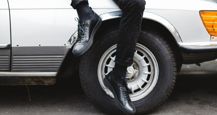 Fred Perry x George Cox Footwear Collection @fredperry