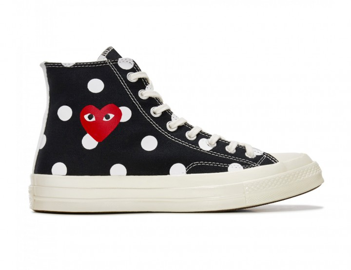 Check Out The Latest Converse x COMME des GARÇONS PLAY Sneaker @converse