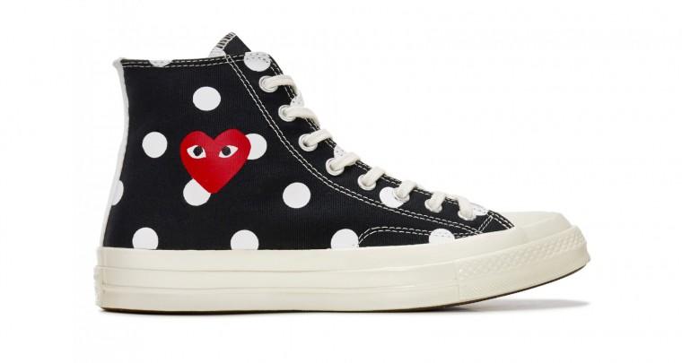 Check Out The Latest Converse x COMME des GARÇONS PLAY Sneaker @converse