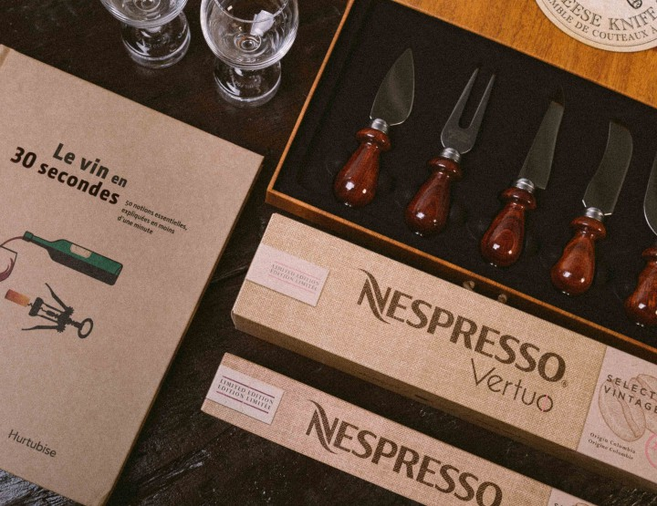 Nespresso Ages Its Coffee Beans To Create A Limited Edition Collection @NespressoCA