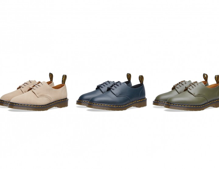 Engineered Garments Subtly Updates Dr. Martens Ghillie Shoe @drmartens