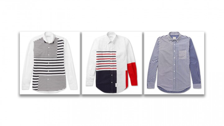 The Striped Shirt You Haven't Thought Of Wearing Yet