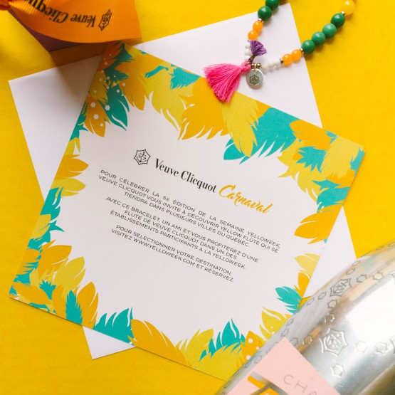 Find Out Where To Go To Celebrate Veuve Clicquot's 5th Edition Of #Yelloweek @VeuveClicquot