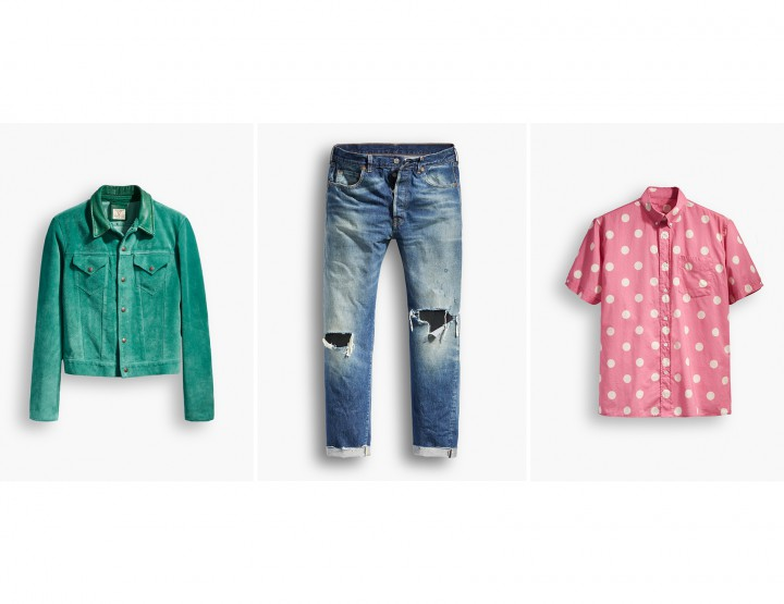 Levi's Vintage Clothing References The Summer Of Love in 1967 For Their Newest Collection @LEVIS