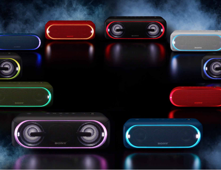 Check Out Sony's Extra Bass Speaker Series @Sony
