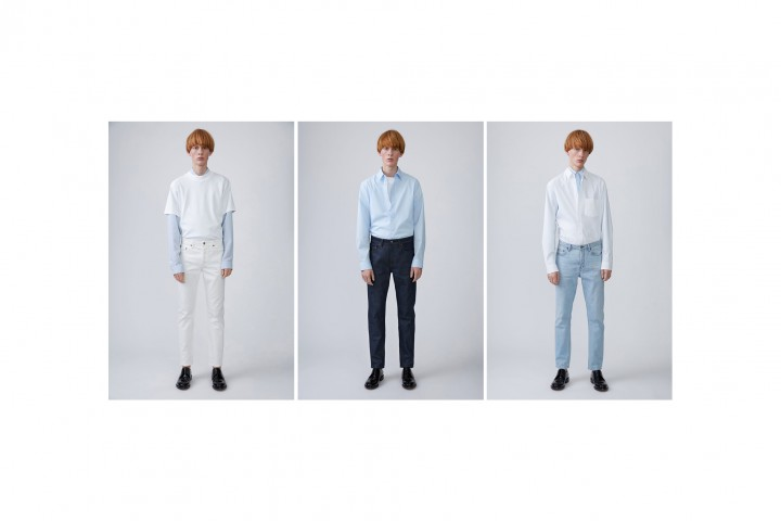 ACNE Studios Relaunches Their Denim Program @acnestudios