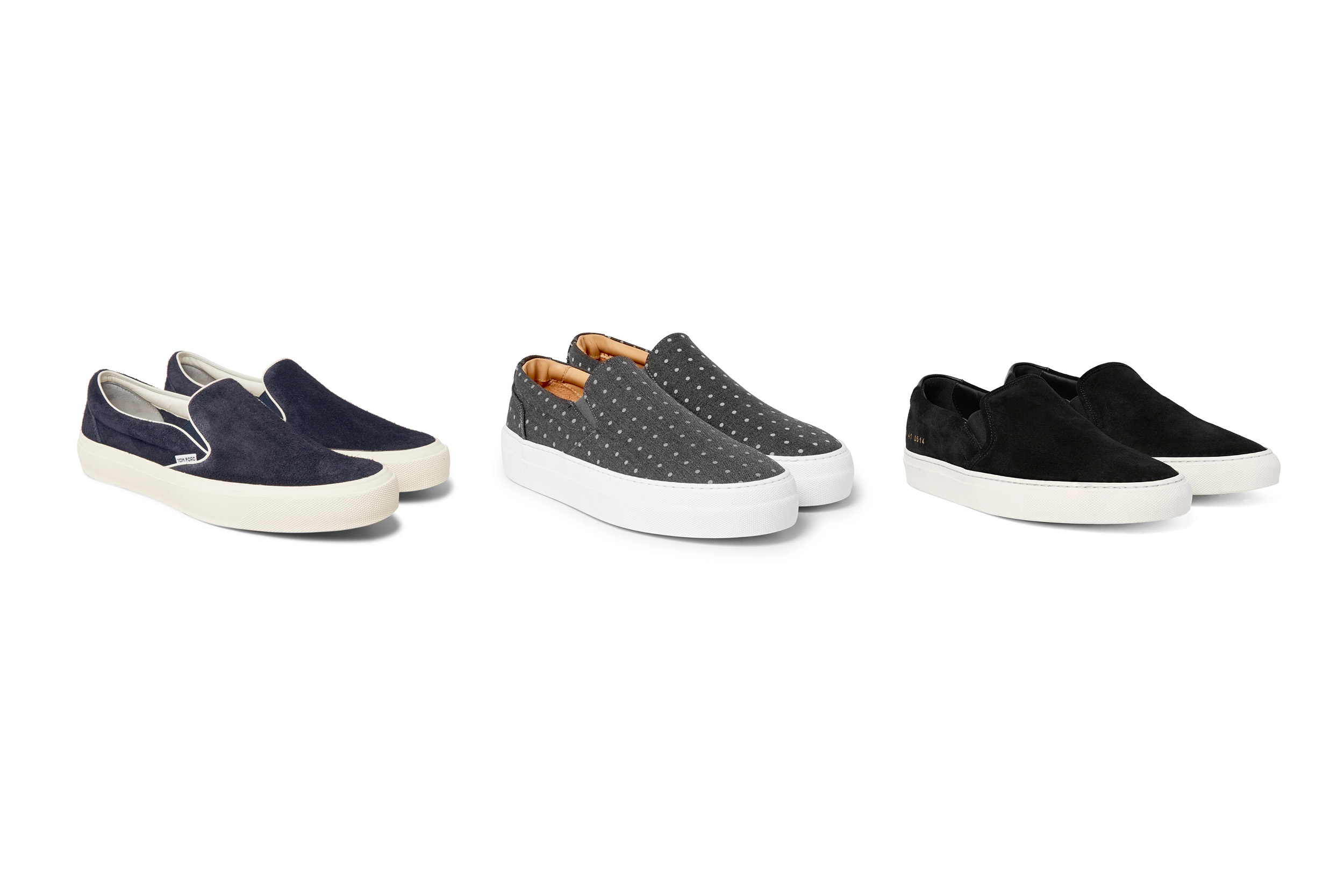 slip-on sneakers banner