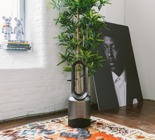 Keep Your Office Air Fresh With Dyson's Pure Hot+Cool Link Purifier @Dyson