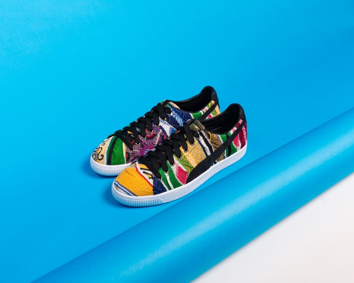 The PUMA x Coogi Clyde Sneaker Is Set To Drop Again This Month @PUMA #PUMAxCOOGI
