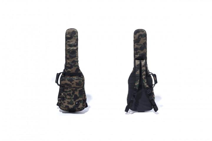 BAPE Puts Their Iconic Camo Print On A Guitar Case @BAPEOFFICIAL