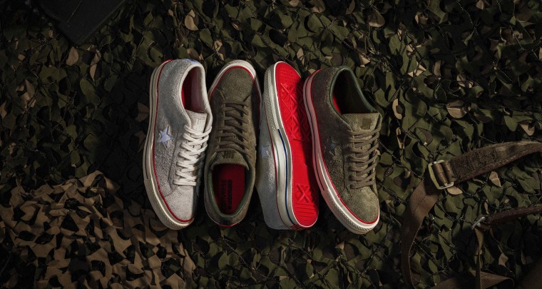 Converse and UNDEFEATED Return For A New Collaborative One Star Sneaker @Converse