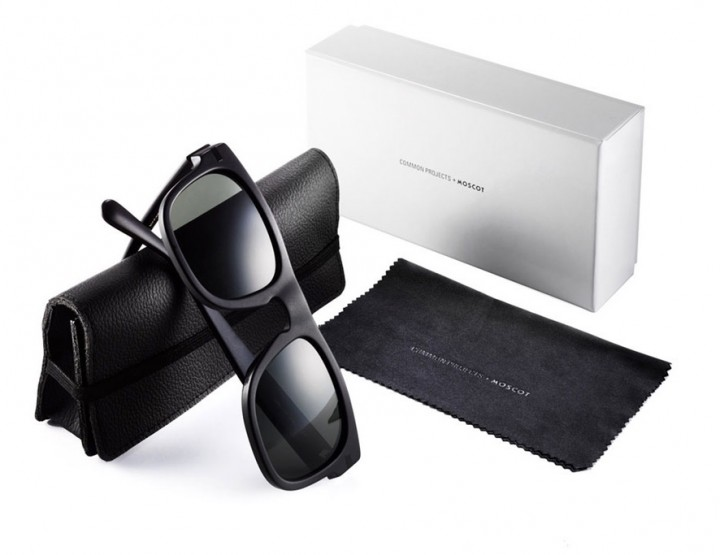 Common Projects x MOSCOT Re-release Its 'TYPE ONE' Sunglasses @MOSCOT