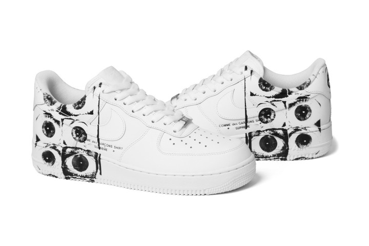Supreme x COMME des GARÇONS SHIRT x Nike Air Force 1 Low Is Set To Drop This Week