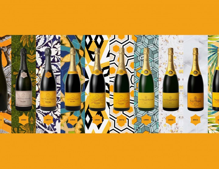 This Year, Veuve Clicquot Celebrates Its Yellow Label's 140th Anniversary! @VeuveClicquot #VeuveClicquot