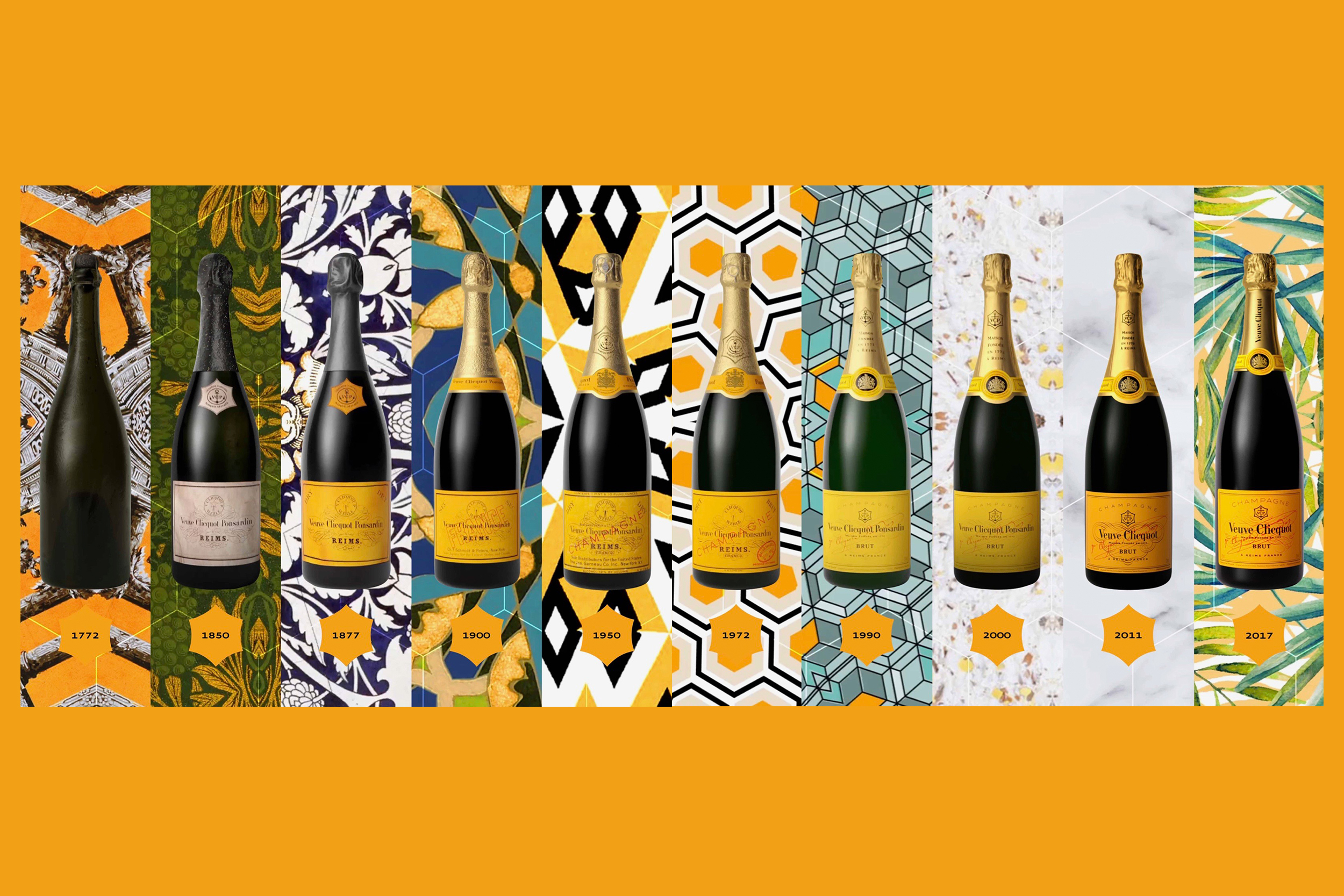 veuve clicquot 140th banner