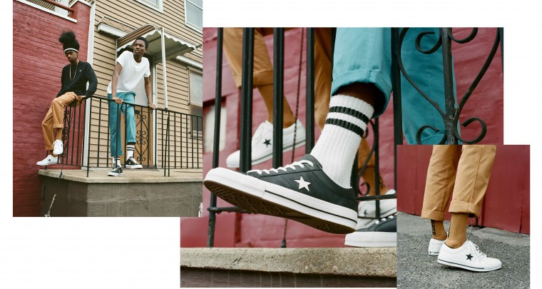 Converse Introduces The One Star Perforated Leather Sneaker @Converse