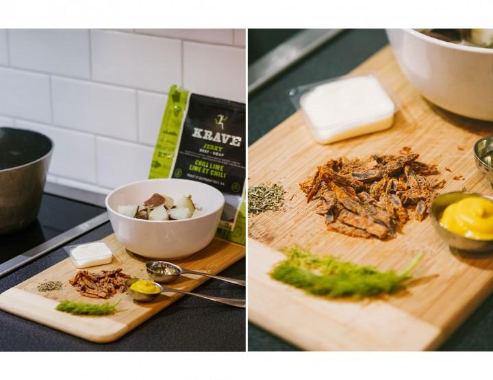 Serve Up KRAVE Potato Salad At Your Next Barbecue @kravejerky #ExploreYourTastes #KraveJerky #Partner