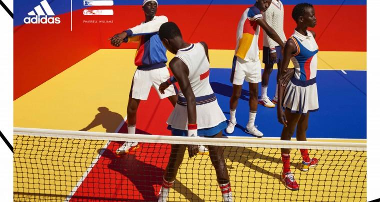 Pharrell Williams x adidas Tennis 'Don't Be Quiet Please' Campaign @adidastennis #adidasPharrellWilliams