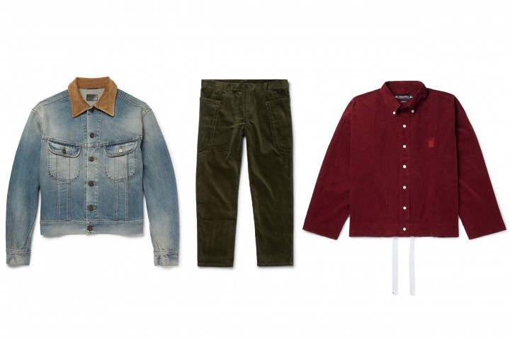 Check Out Our Favourite Corduroy Pieces For The Fall Season #Menswear